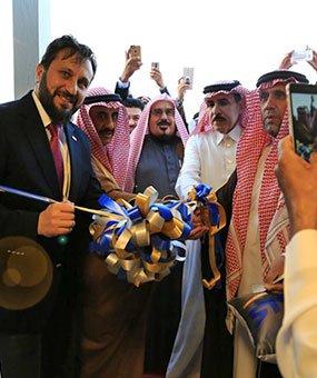 شركة كارمود تفتتح معرضها الجديد في المملكة العربية السعودي