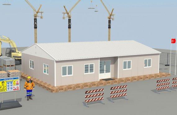 البناء الجاهز في جده