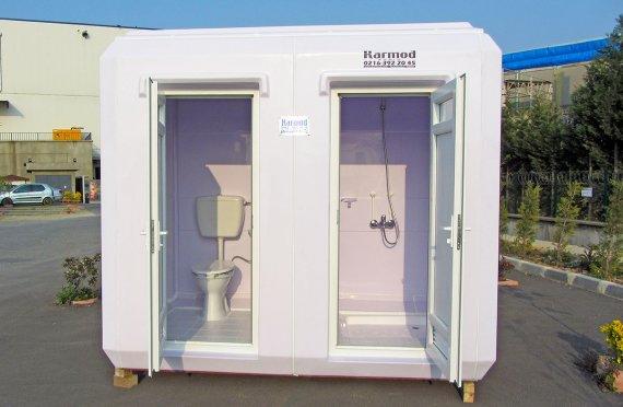 150x270  كابين مرحاض و حمام متنقل