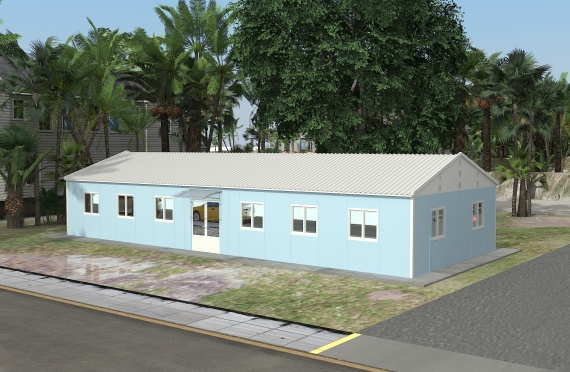 مبنى مكتب 146 م²