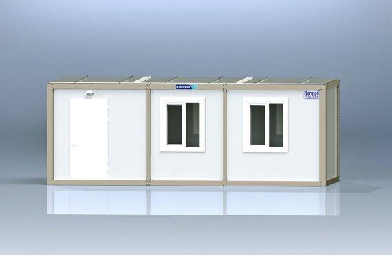 كنتينر مكتب جاهز للتركيب K8001