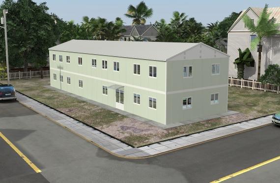 مبنى مكتب 463 م²