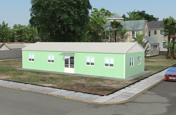 مبنى مكتب 106 م²