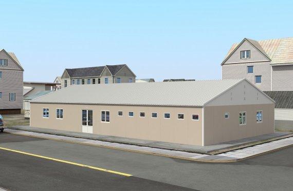 مستشفى جاهز 275 متر مربع