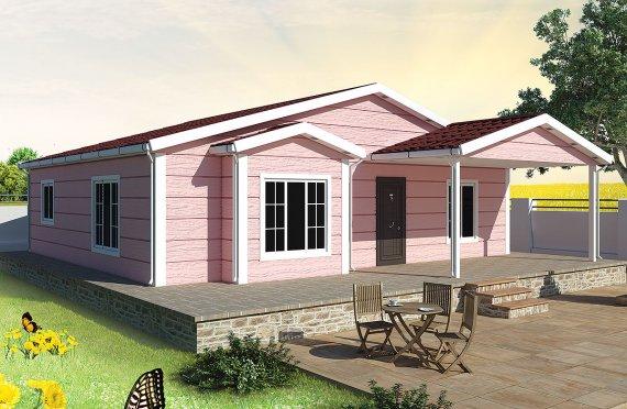 بيت مسبق الصنع 105 م²