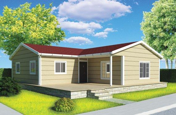 بيت مسبق الصنع 107 م²