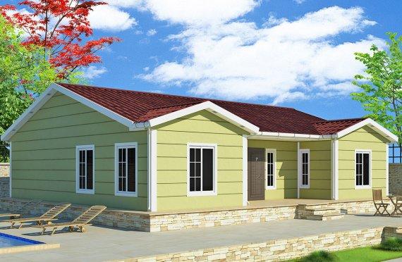 بيت مسبق الصنع 126 م²