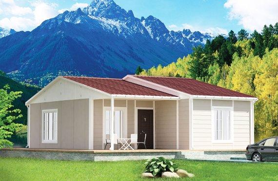 بيت مسبق الصنع 61 م²