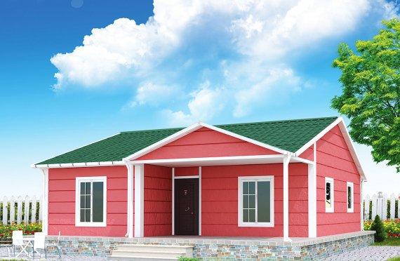 بيت مسبق الصنع 82 م²