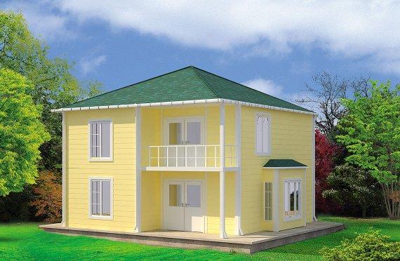 بيت مسبق الصنع 124 م²