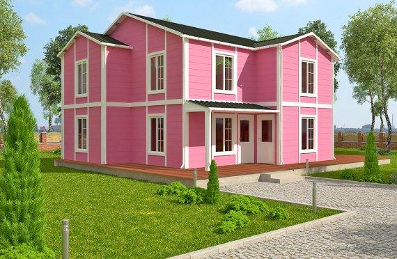 بيت مسبق الصنع 147 م²