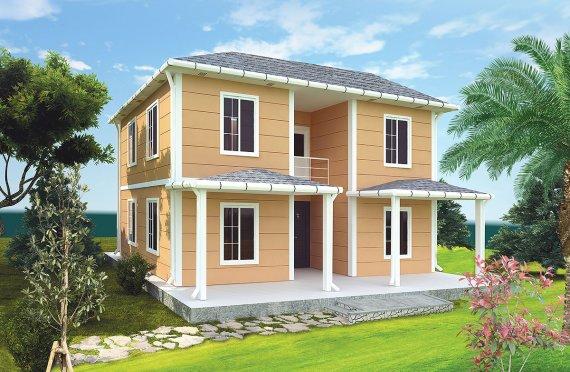بيت مسبق الصنع 148 م²