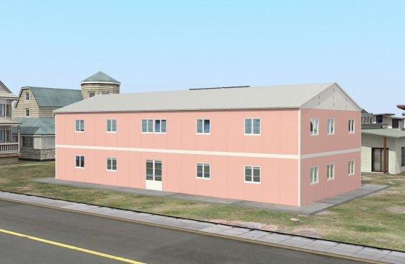 المدرسة الجاهزة 480 م²