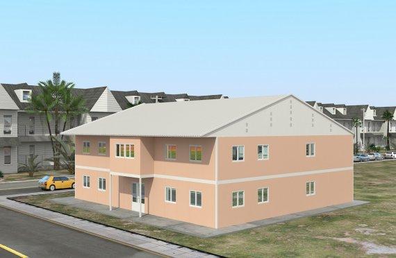 المدرسة الجاهزة 594 م²