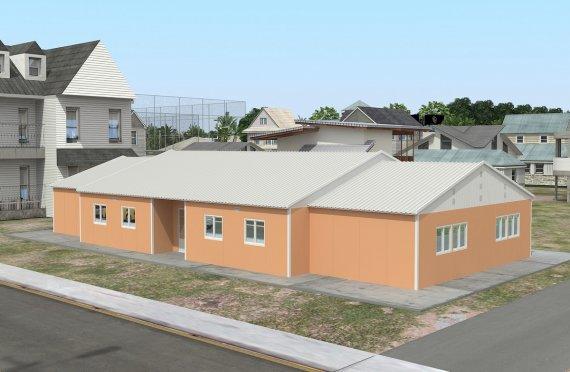 المدرسة الجاهزة 272 م²