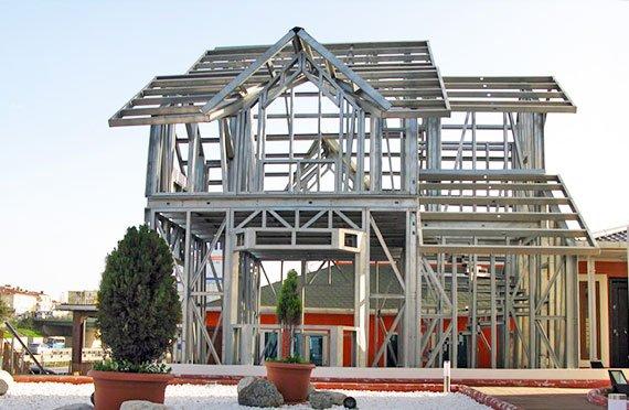 البيوت الفولاذية