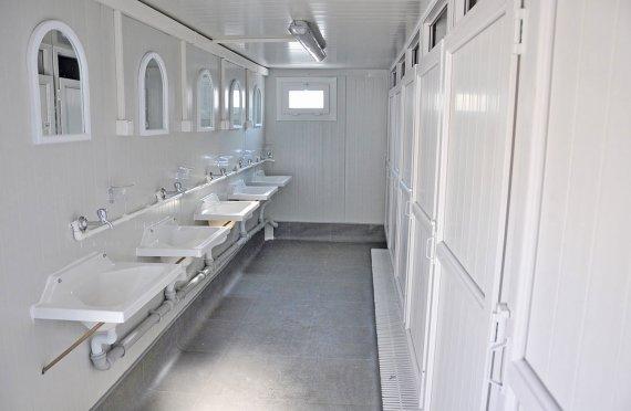 حاويات المراحيض و الحمامات