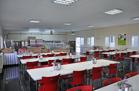 مباني قاعات الطعام