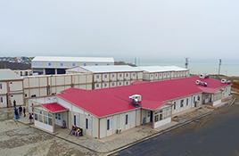 مباني موقع العمل