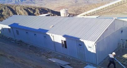 تم تسليم مبنى موقع عمل لشركة أناغولد للتعدين في إرزينجان لموقع مشروع منجم الذهب