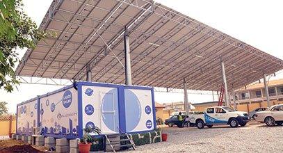 عملت كارمود مؤخرا على انتاج الكرفانات الشمسية في نيجيريا،