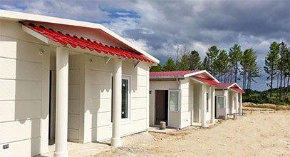 أنتجت كارمود مشروع منازل من الفولاذ في بنما