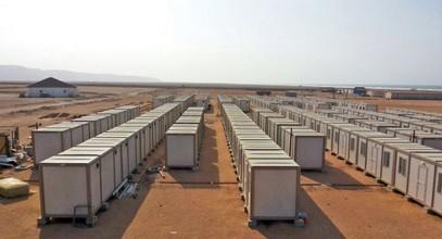 أتممنا إنشاء مواقع بناء لعمال مناجم الذهب في غینیا