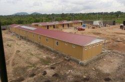 بناء الوحدات والبيوت الجاهزة