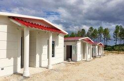 البيوت الجاهزة للمزارع