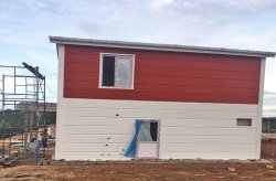 البيوت الجاهزة مسبقة الصنع