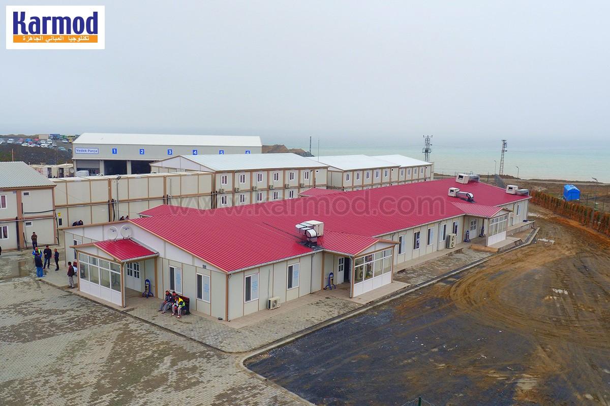 مواقع العمل مباني الخرسانة مسبقة الصنع كارمود