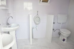 الحمام اكشاك كملين
