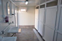 حاويات للمراحيض وحمامات الدوش