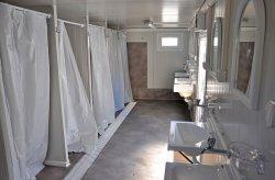 حاویة WC-دش
